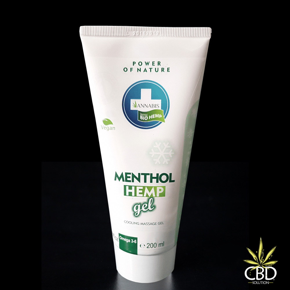 Menthol Hemp Gel 200ml -...